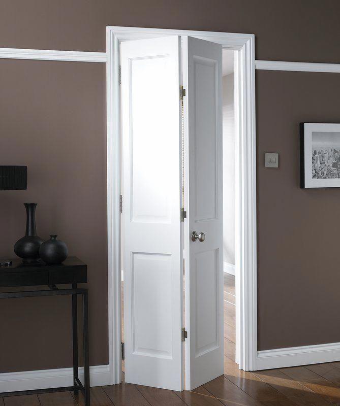 My Idea For This Room Is To Replace The Single Leaf Door With A Panelled Bi Fold Door Folding Bathroom Door Doors Interior Bifold Doors