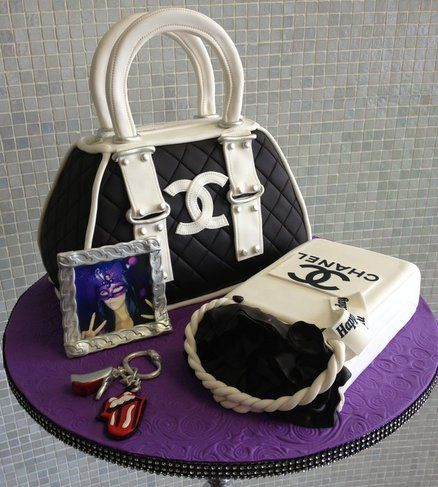 Chanel Purse cake Cake by Over The Top Cakes Designer Bakeshop