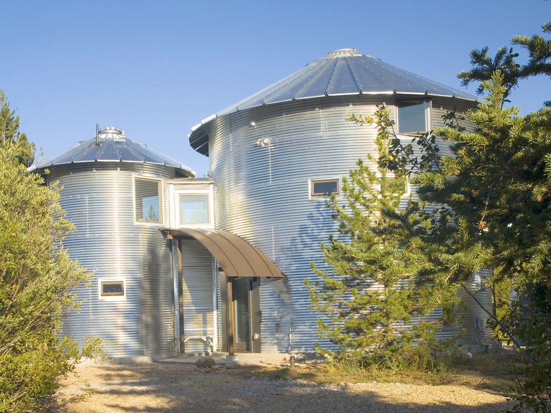 Charmant 15 Anti Mainstream Living Space Design From Grain Bin House