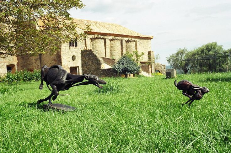 greyhound hare statue - Google Search