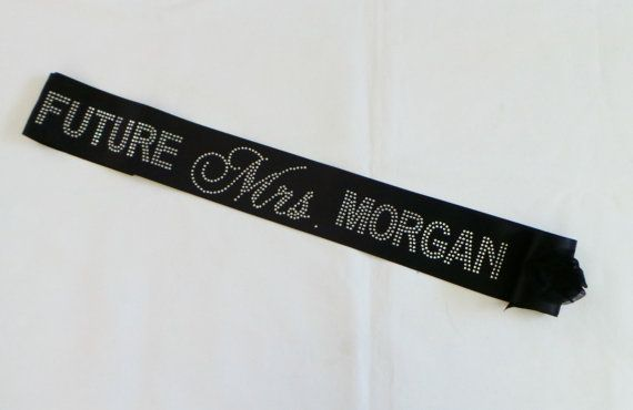 future mrs rhinestone sash personalized sash bridal shower sash bachelorette sash personalized