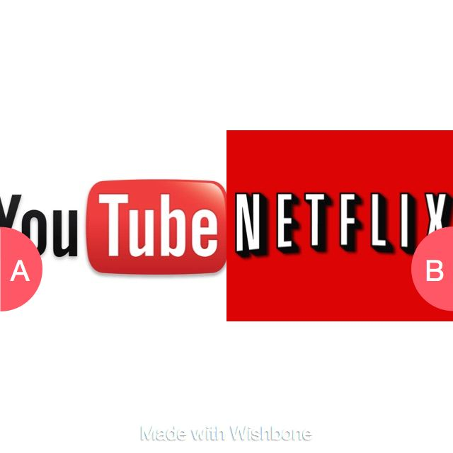 Cute Pug Dog Brand Logo Company: Youtube Or Netflix? Click Here To Vote @ Http