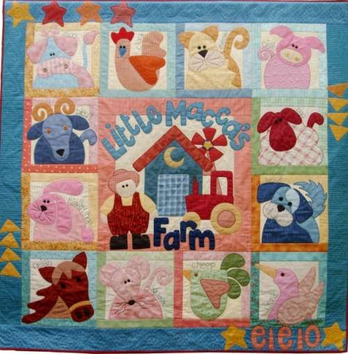 Quilt BOM - Little Maccas Farm - by Kookaburra Cottage Quilts ... : quilt supplies - Adamdwight.com