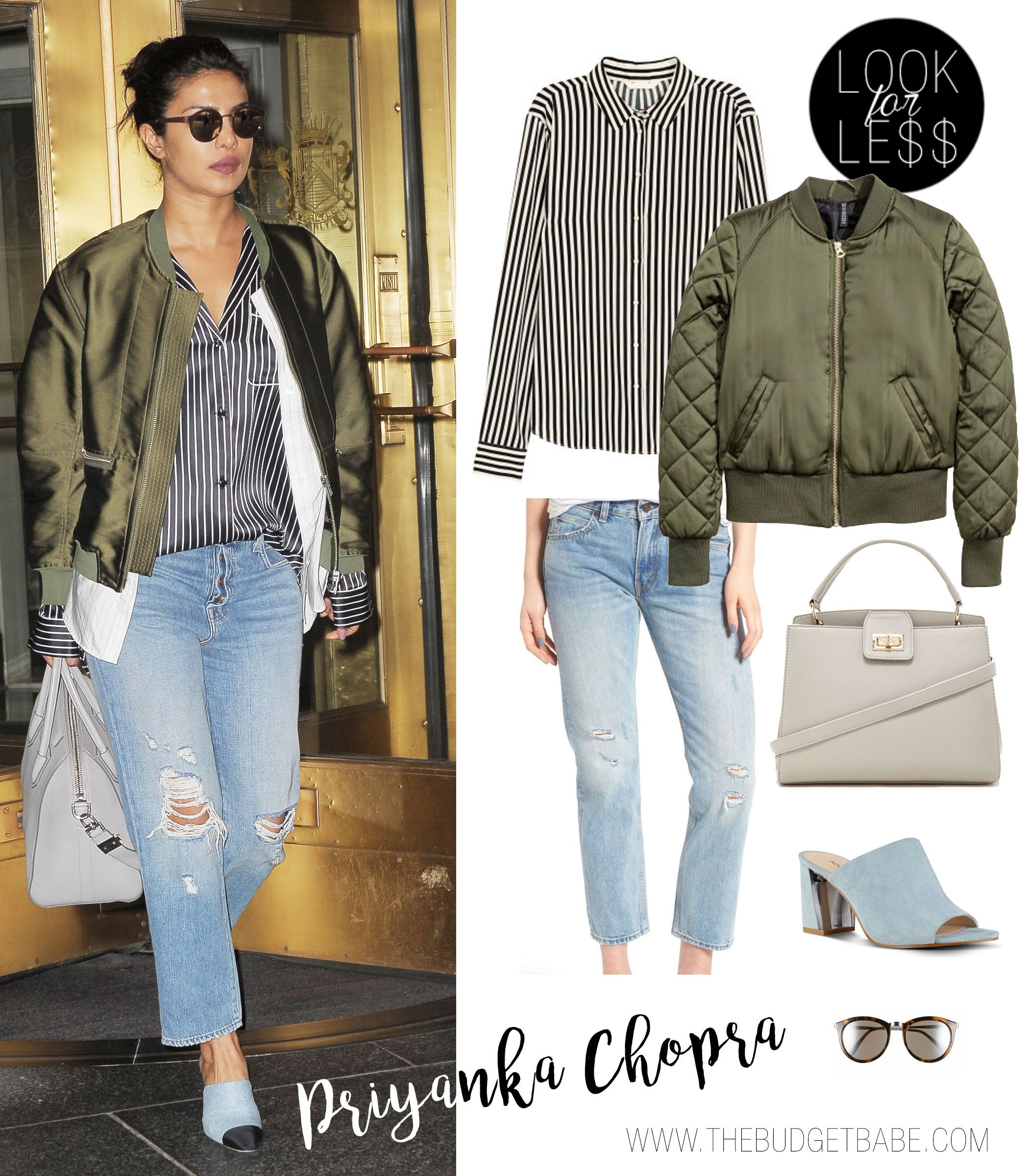 Priyanka Chopra Casual Streetstyle Outfit Ideas Look For Less Celebrity Casual Outfits Street Style Outfits Casual Priyanka Chopra