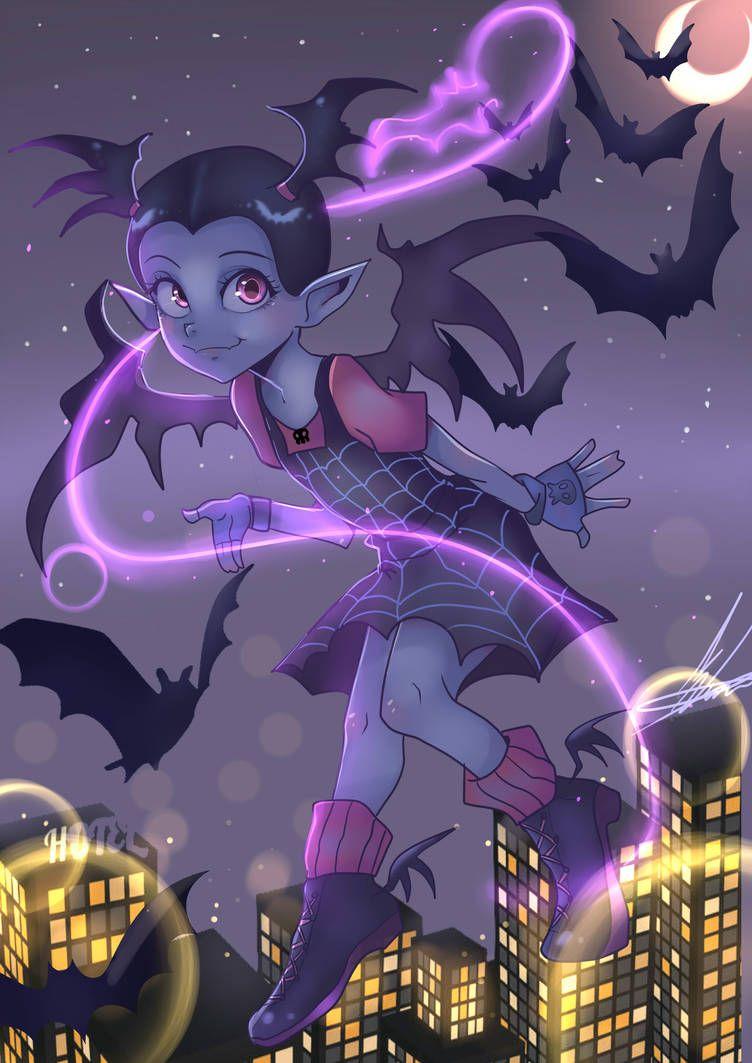 Vampirina By Invader Celes On Deviantart Deviantart Disney Anime Disney Fan Art