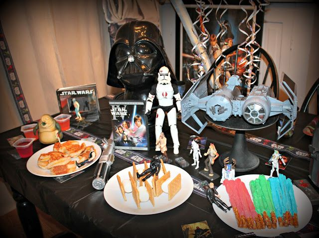 The Fancy Shack: Great Star Wars themed food for a party.