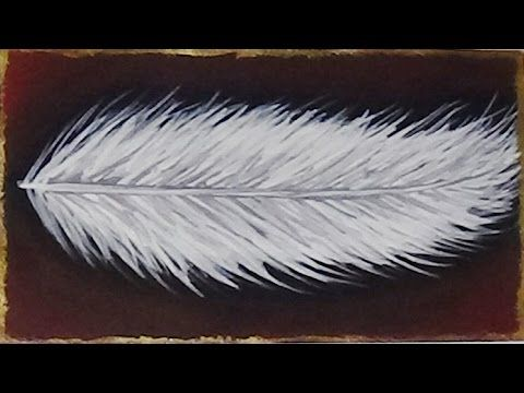 Subscribe: https://www.youtube.com/subscription_center?add_user=BeCre8ive2 Mini acrylic painting of a feather. FOLLOW ME: YOUTUBE: https://www.youtube.com/Be...