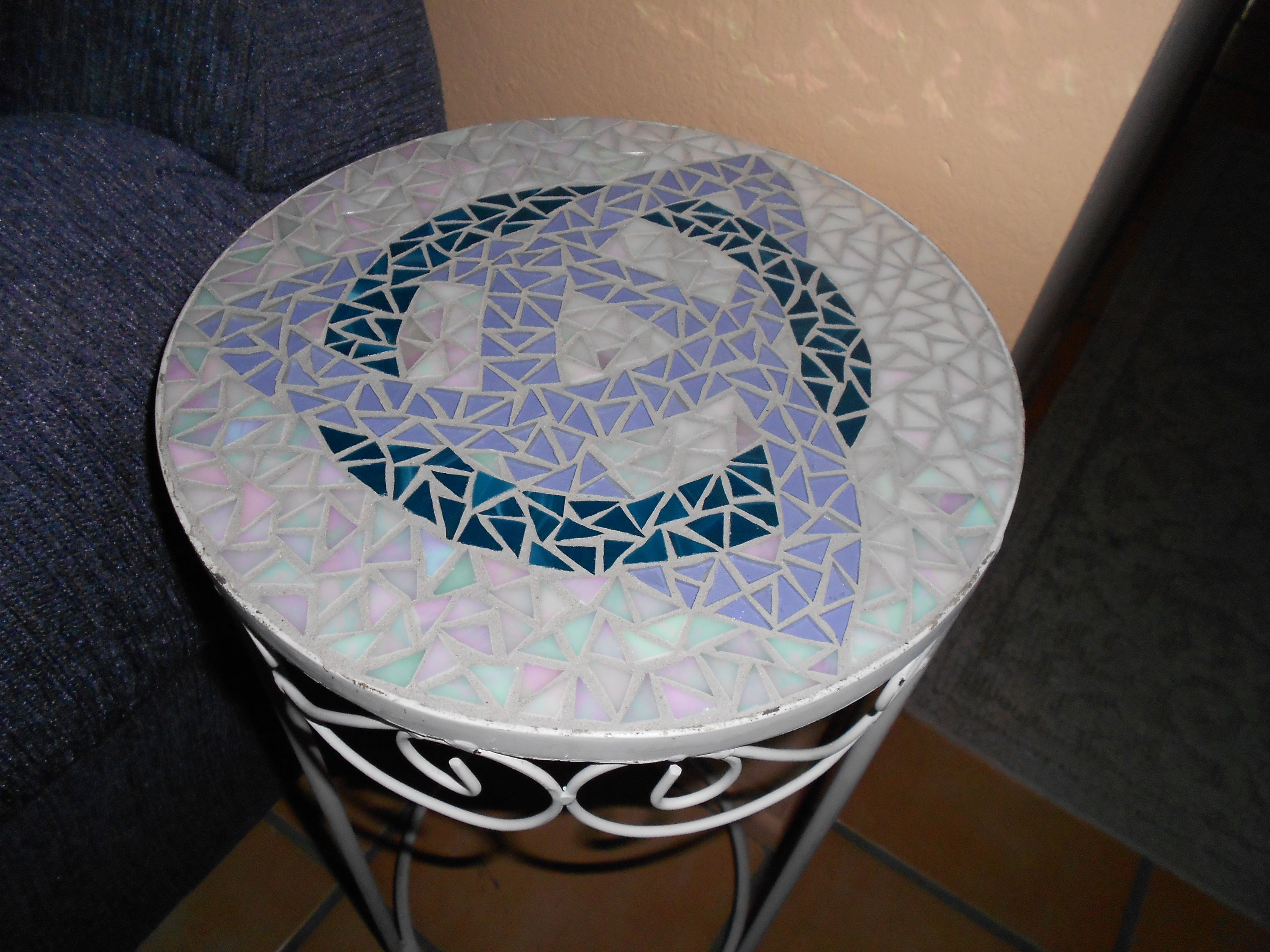 Celtic Knot Mosaic Table A Gift For My Best Friend