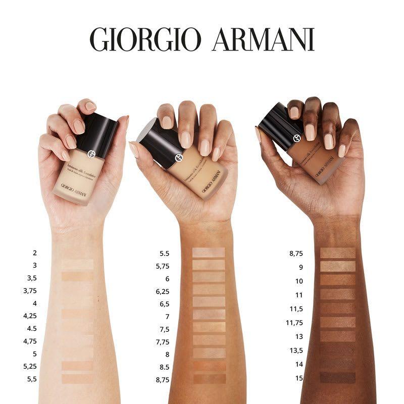 Giorgio Armani Luminous Silk Foundation 30ml Giorgio Armani Luminous Silk Armani Luminous Silk Foundation Shades Giorgio Armani Foundation