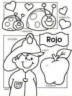 Spanish single word printables  actividades para hacer