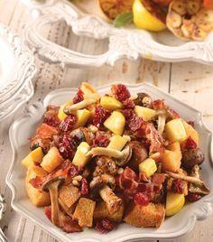 Varía el relleno del pavo navideño con esta exquisita receta.