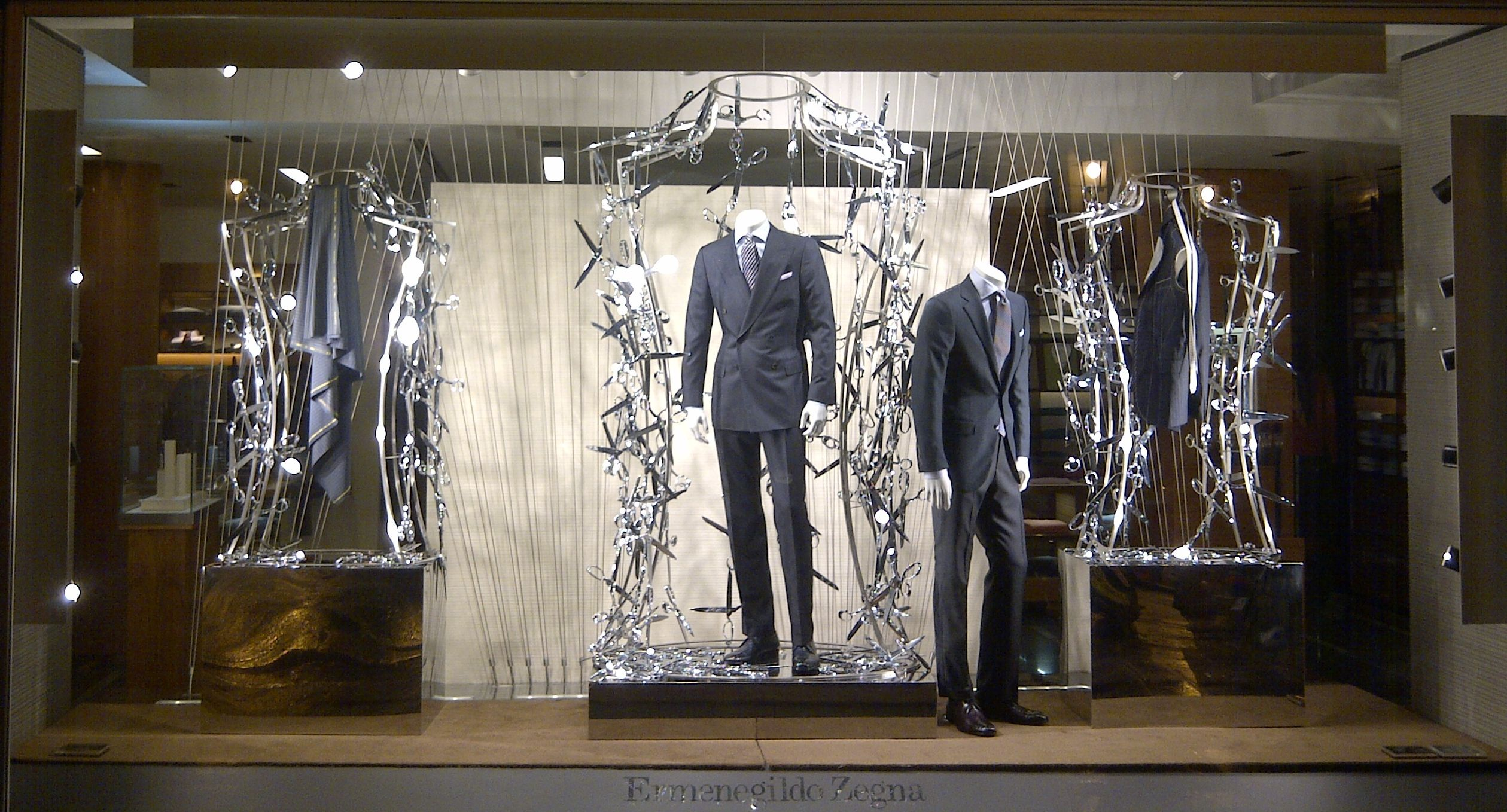 e zegna paris 2011 great window displays pinterest. Black Bedroom Furniture Sets. Home Design Ideas