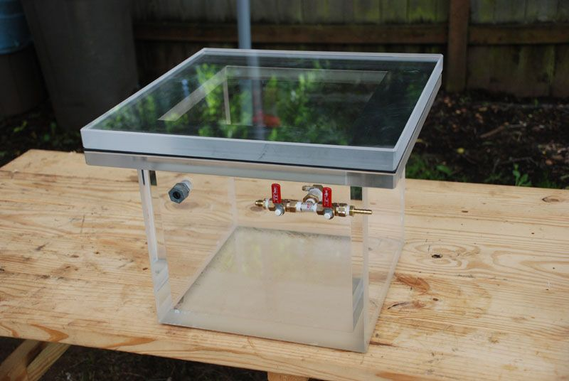 Steve's Vacuum chamber Vacuum Forming, Homemade Tools, Mold Making, Woodturning, Moulding,