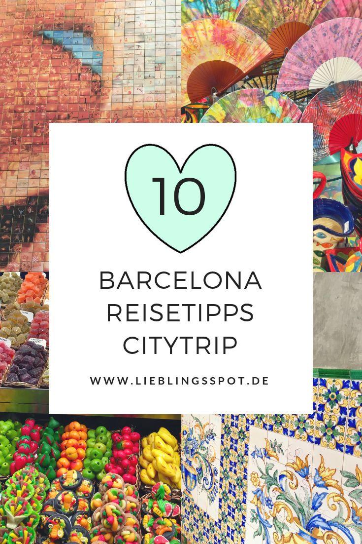 Barcelona Reisetipps: meine 10 Tipps für einen Citytrip