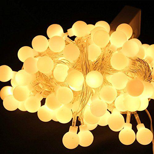 100 led 33ft10m globe string lights warm white ball fairy light for 100 led 33ft10m globe string lights warm white ball fairy light for party christmas workwithnaturefo