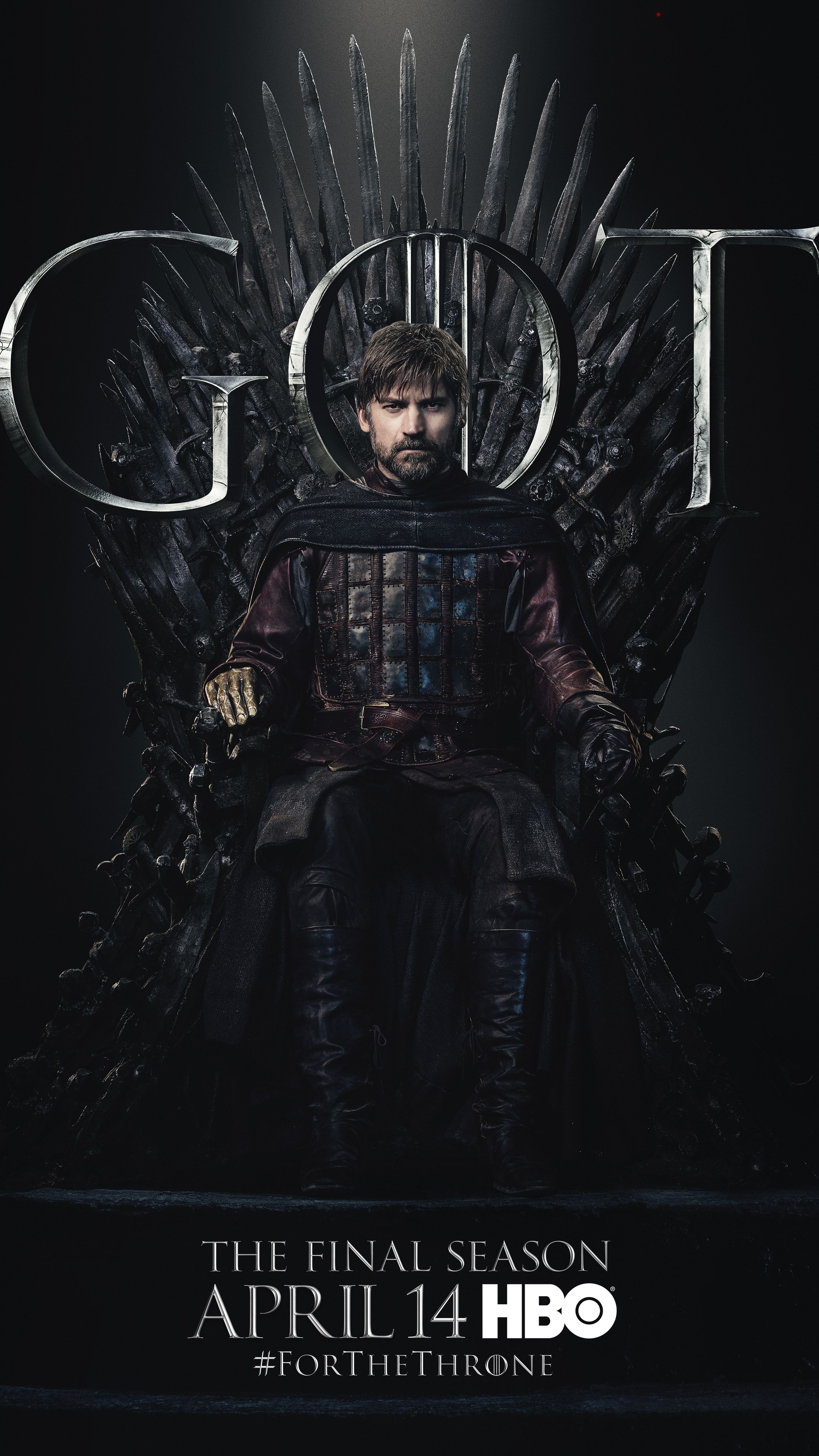 Official Game Of Thrones Season 8 Waiting For The Throne GOT Black T Shirt