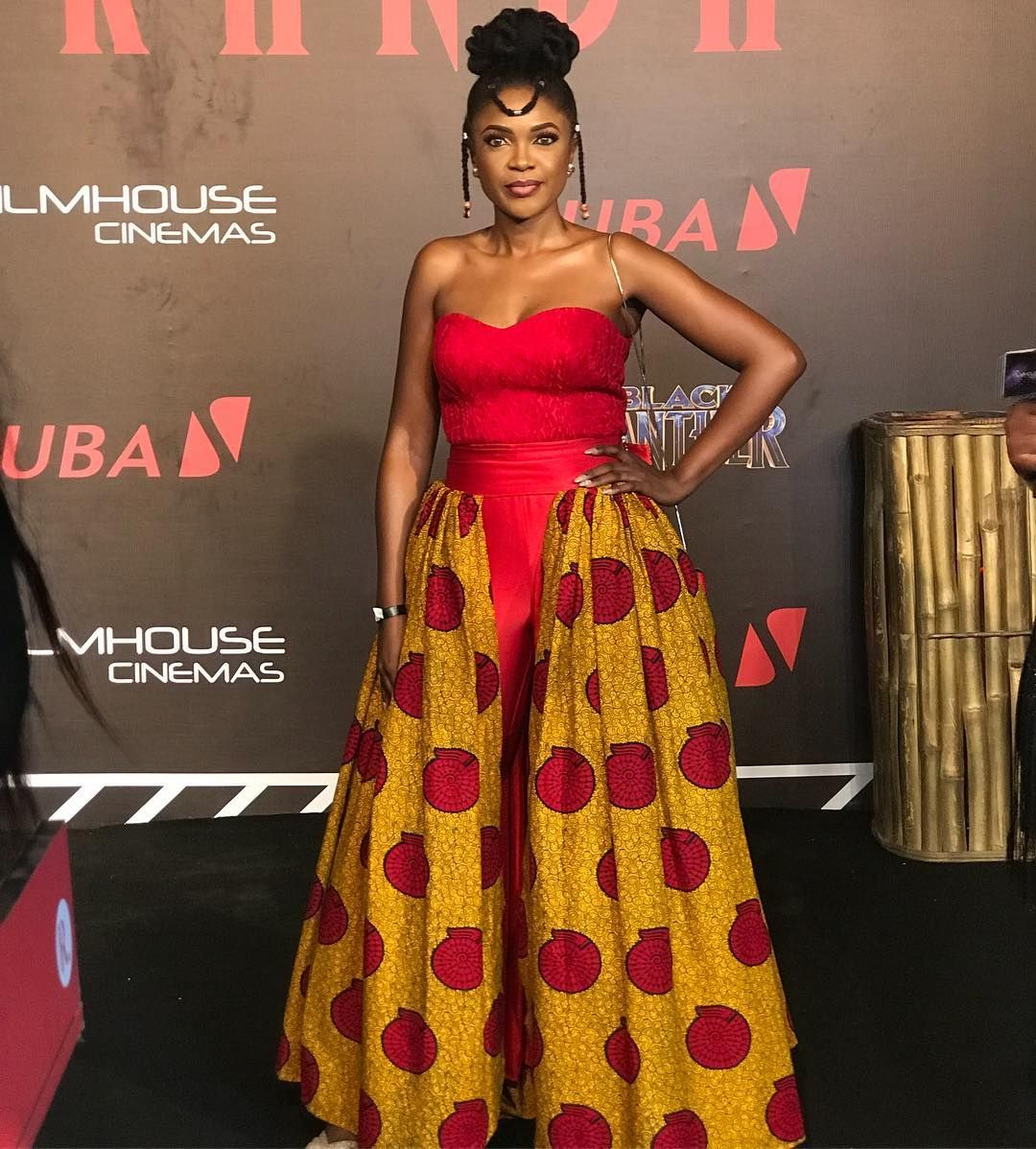 Black Panther Movement Welcome To Wakanda Nigeria Check Out What Nollywood Stars Wore To The Premiere African Glitz Magazine African Inspired Fashion African Fashion Women African Fashion