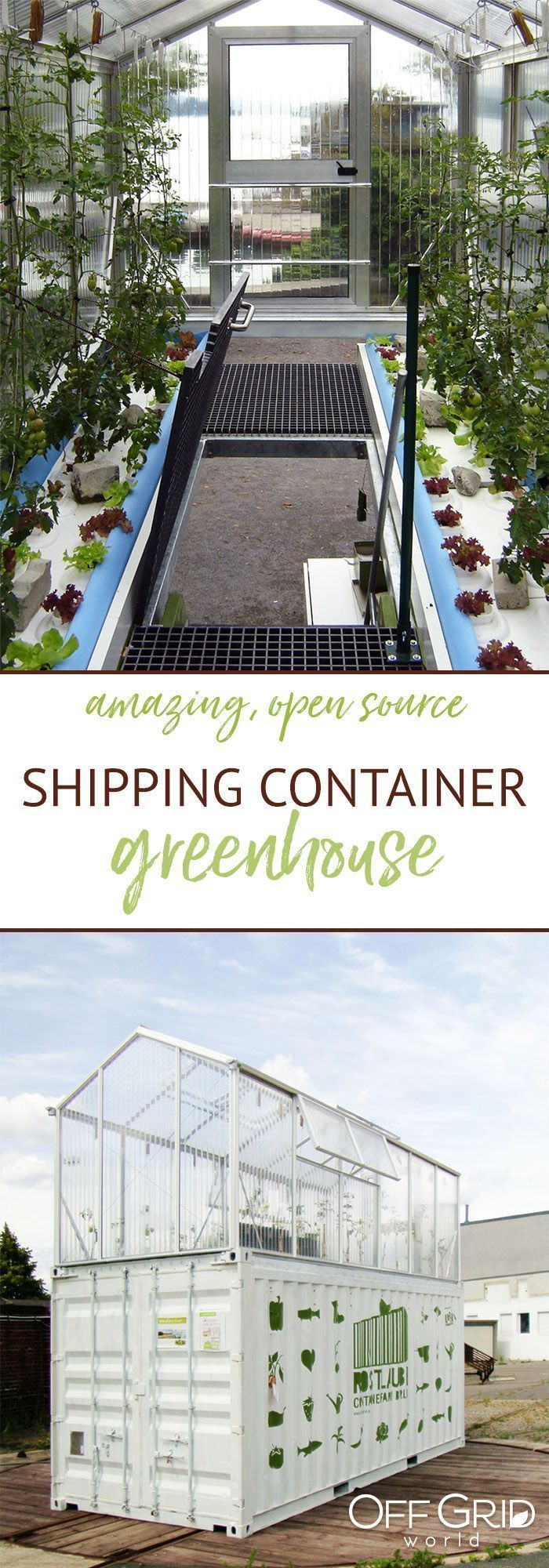 Urban farming solution - a greenhouse built on (and within) a ...