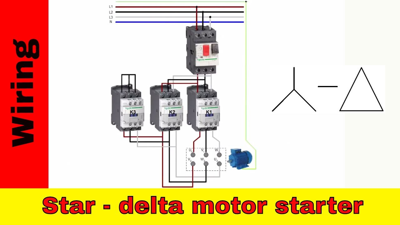 Hasil gambar untuk wiring diagram star delta