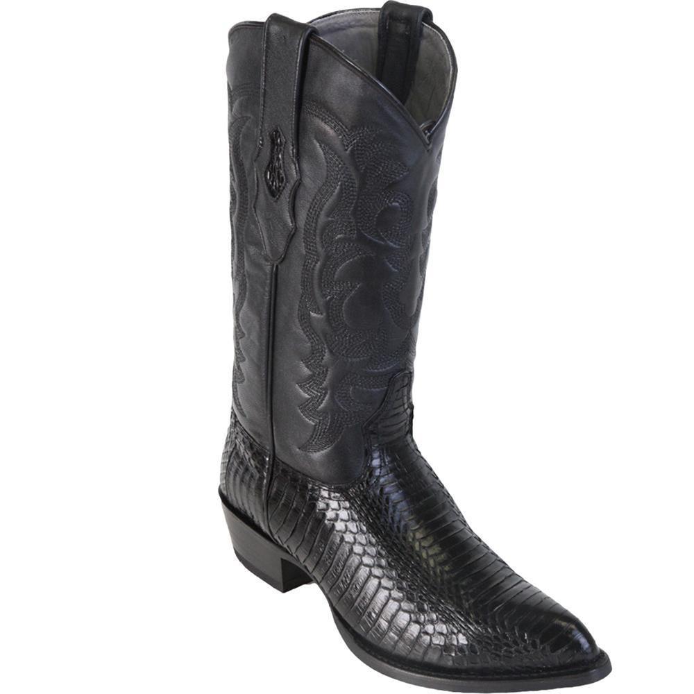 7d592c36ee3 Black Cobra Belly Snake Men's J-Toe Los Altos Boots 996505 in 2019 ...