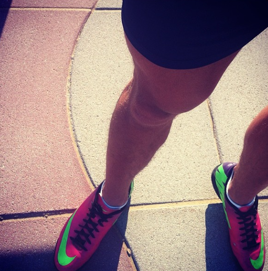 Get fit with Nike Mercurial (weared by me).