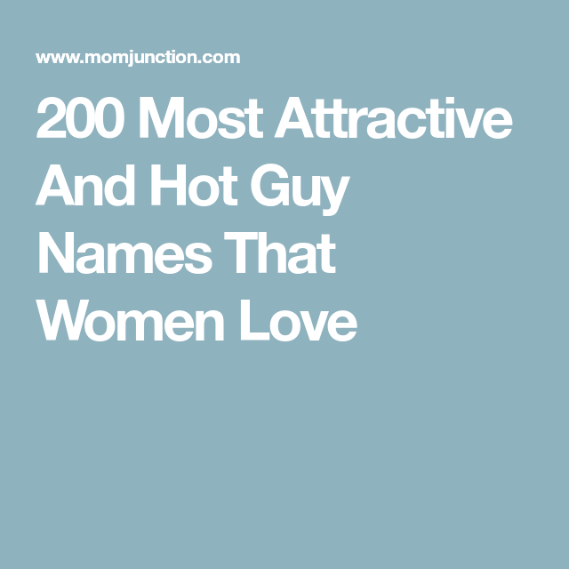 Names women love