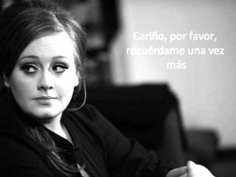 Adele Dont You Remember Subtitulado Espanol