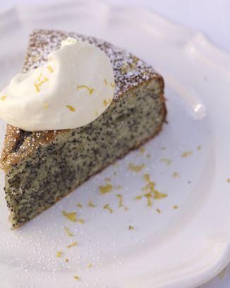 Almond Cake With Lemon Poppy Seeds Recipe Almond cakes Jamie