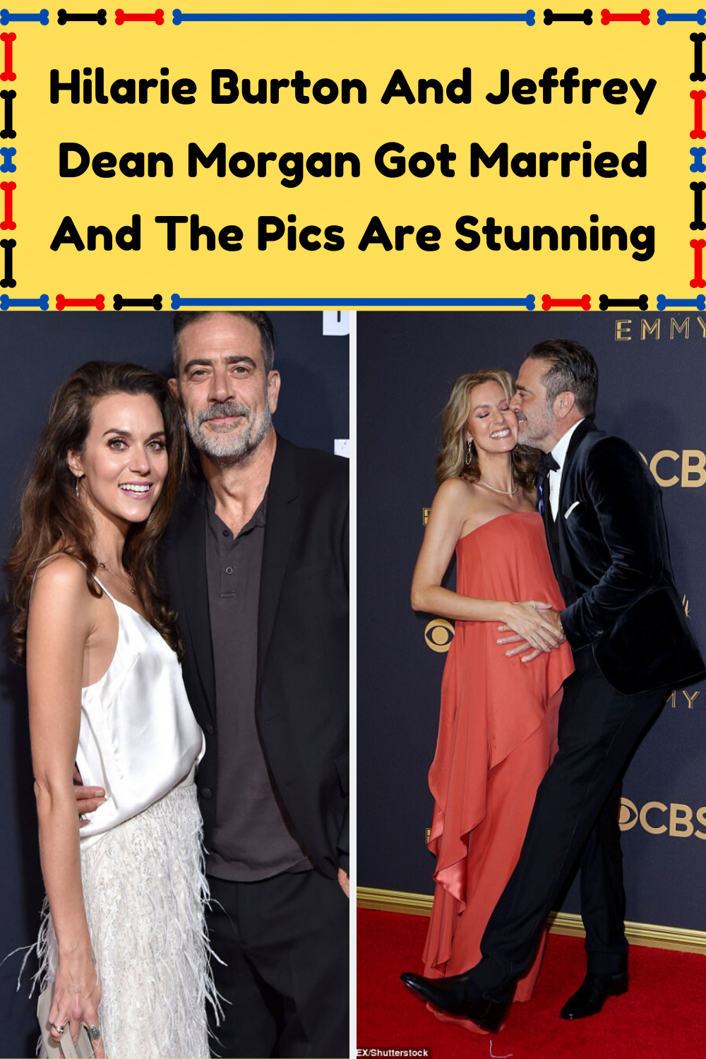 Hilarie Burton And Jeffrey Dean Morgan Got Married And The ...