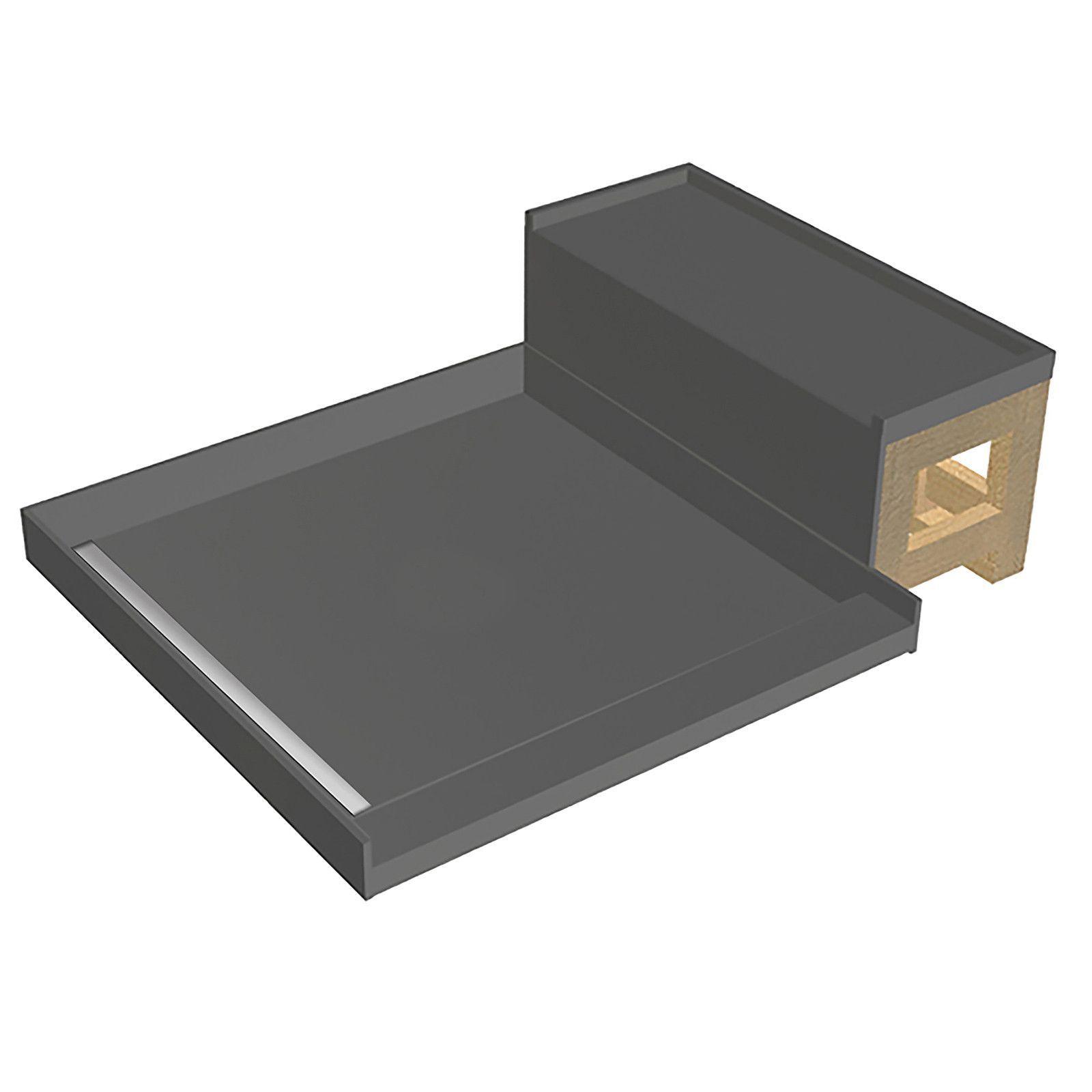 Tile Redi Wf3248l Rb32 Kit 32 X 48 Fully Integrated Left Pvc