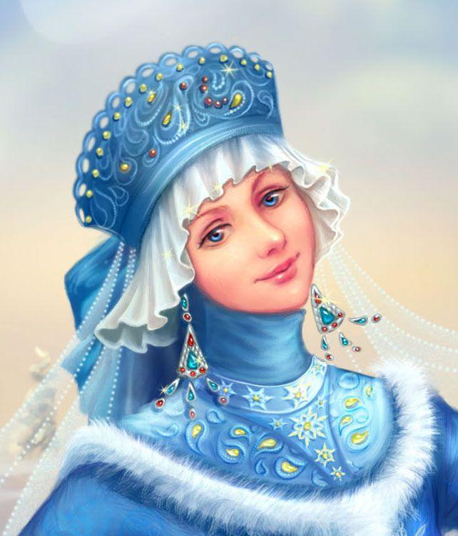Снегурочкаall Russian girls want to be like Snegurochka