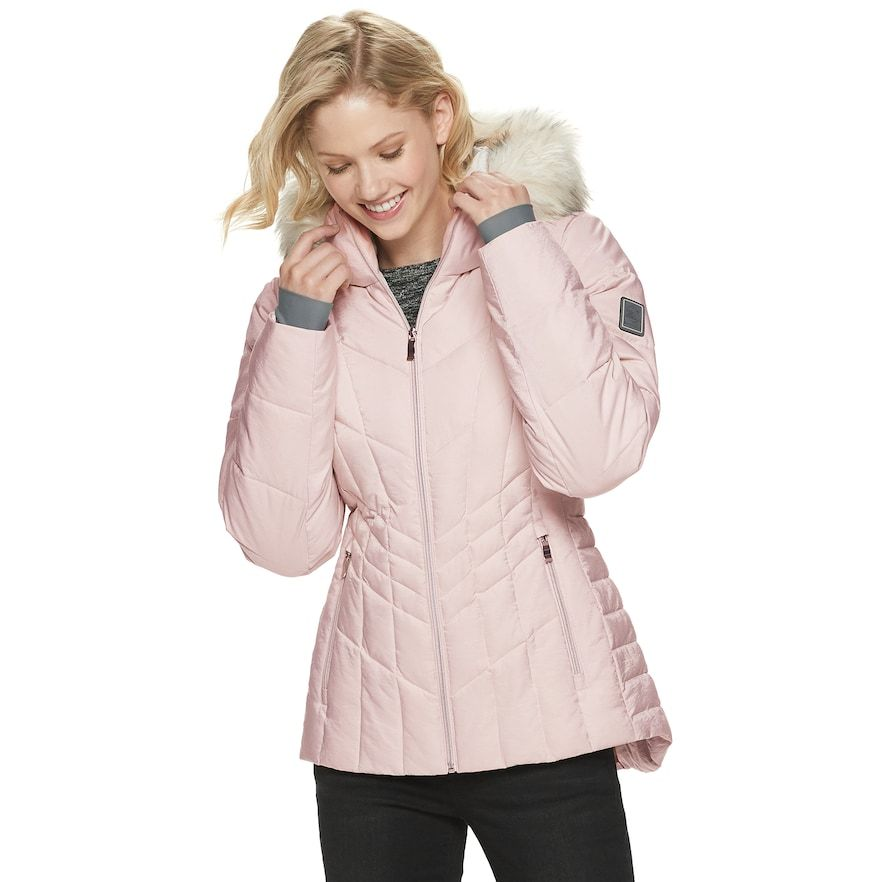 Women S Zeroxposur Shimmer Heavyweight Quilted Puffer