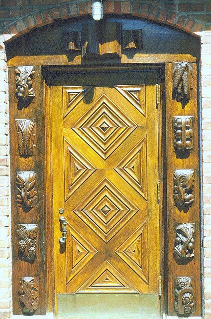 Door The doorway to the Cranbrook School Library by Geza Maroti. Detroit & Door: Cranbrook School Library | Detroit Doors and School