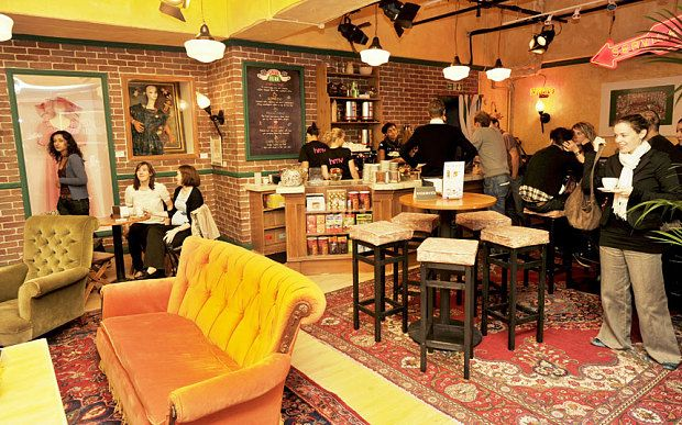 Friends Coffee Shop Central Perk To Open In New York Nyc Coffee Shop Coffee Shop Central Perk