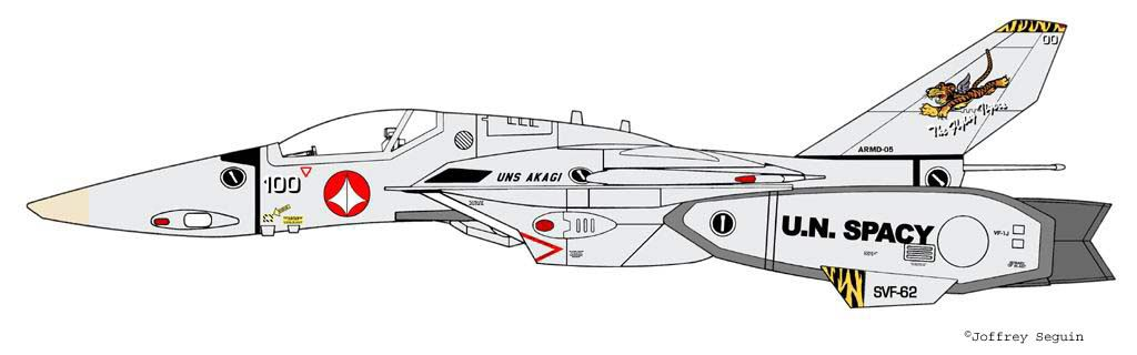 VF-1J Color variation