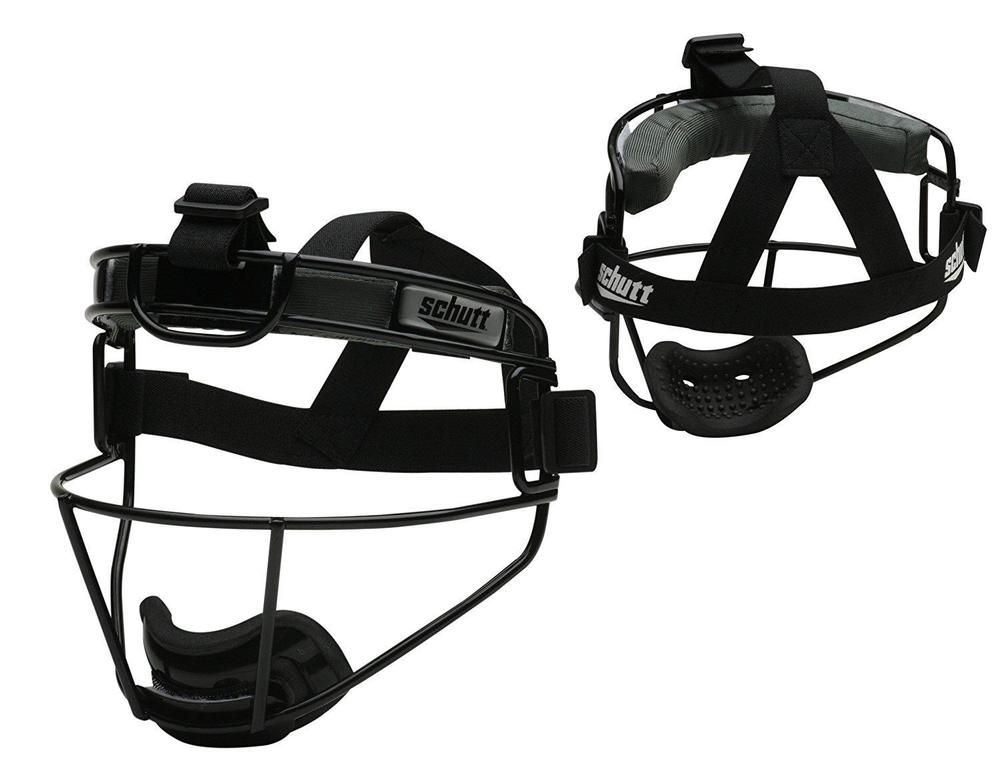 Softball Fielders Guard Mask Safety Face Sports Adjustable