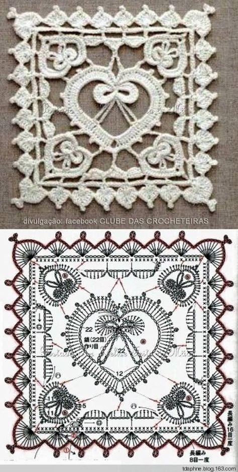 Pin von Maia auf крючок | Pinterest | Häkeln, Häkelmuster und Muster