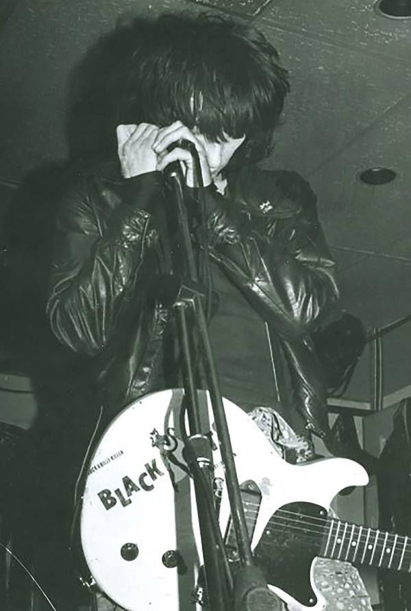 Johnny Thunders at Bullwinkles, London Ontario, Canada July 24th 1985 - Johnny Thunders Rocks