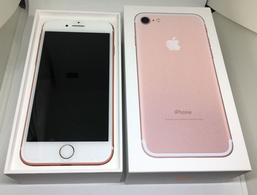 Ebay Sponsored New Apple Iphone 7 256gb Rose Goldfactory