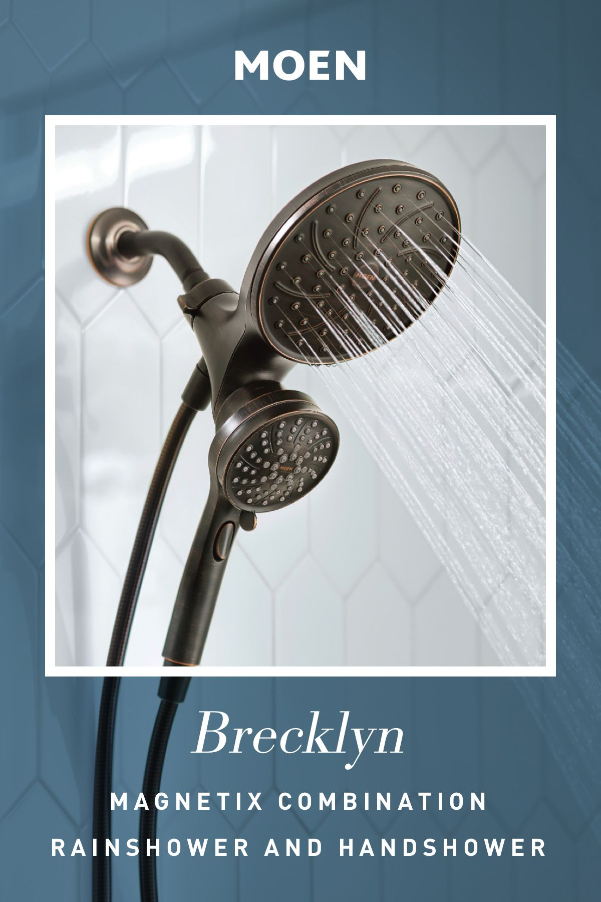 Brecklyn shower only with combination
