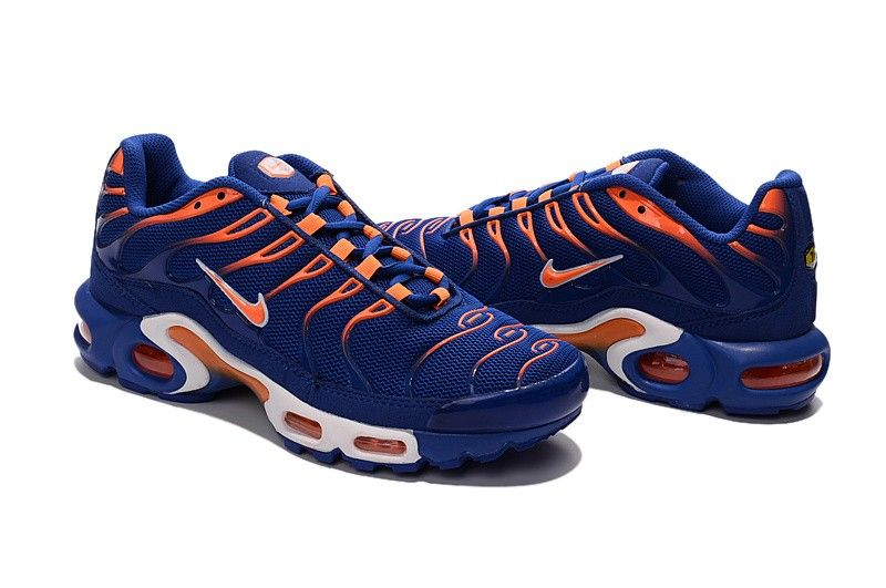 Mens Nike Air Max Tn Cushioning White Orange Shoe Loved Around