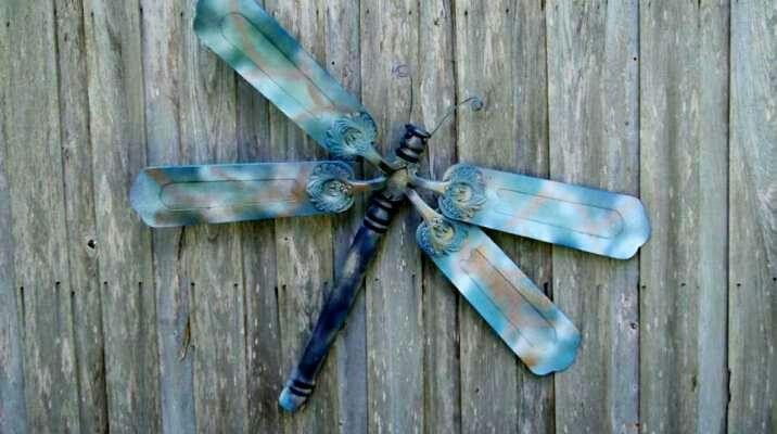 Dragonfly fr ceiling fan blades