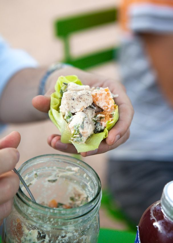 The Urban Poser:: All You Need is Love & Creamy Apricot Chicken Salad (Egg/Mayo Free)