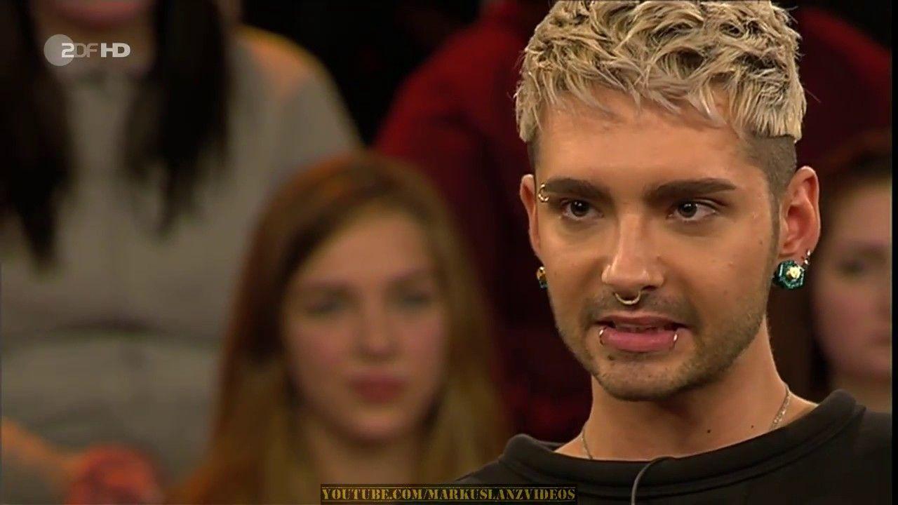 Bill Kaulitz Im Talk Bei Markus Lanz Bill Kaulitz Youtube Talk