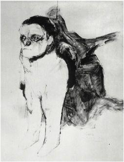 José Luis Cuevas autoretrato mutilado 1962
