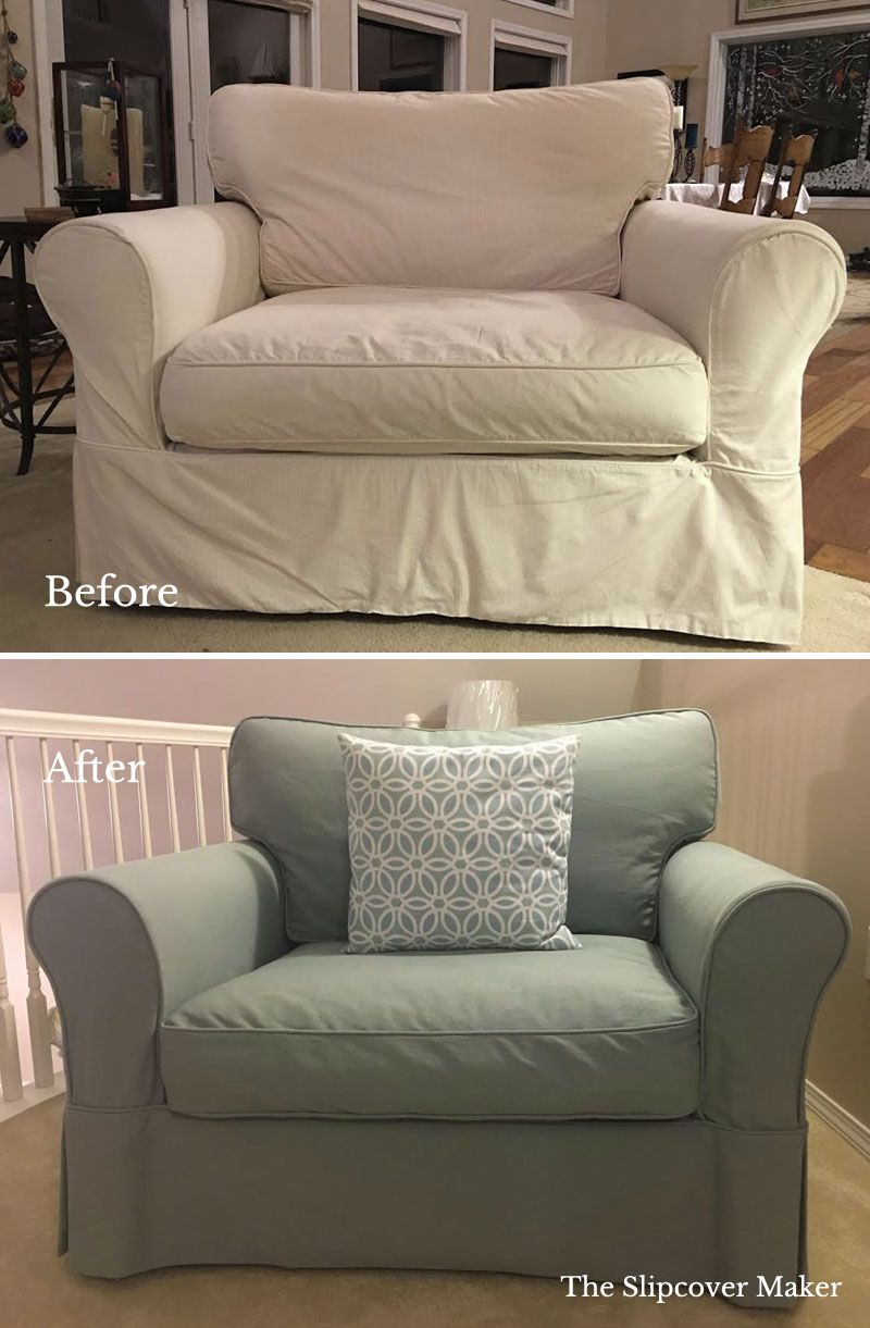 Best Slipcover Denim Beyond White And Natural Slipcovers 400 x 300