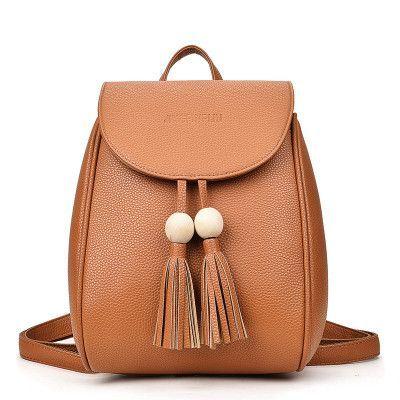2017 Women PU Leather Backpack Designer Bag Girl Casual School Bags For  Teenagers Sac A Main Rucksack Backpacks Mochila Back Bag 72404fbf699ef