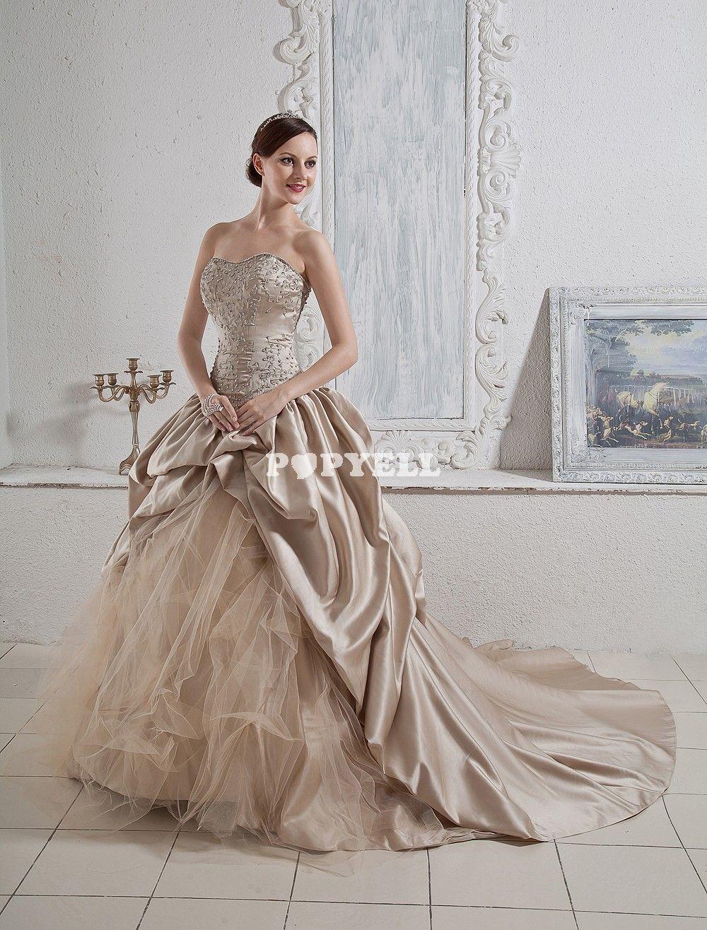 robe de mariee courte couleur champagne robes modernes. Black Bedroom Furniture Sets. Home Design Ideas