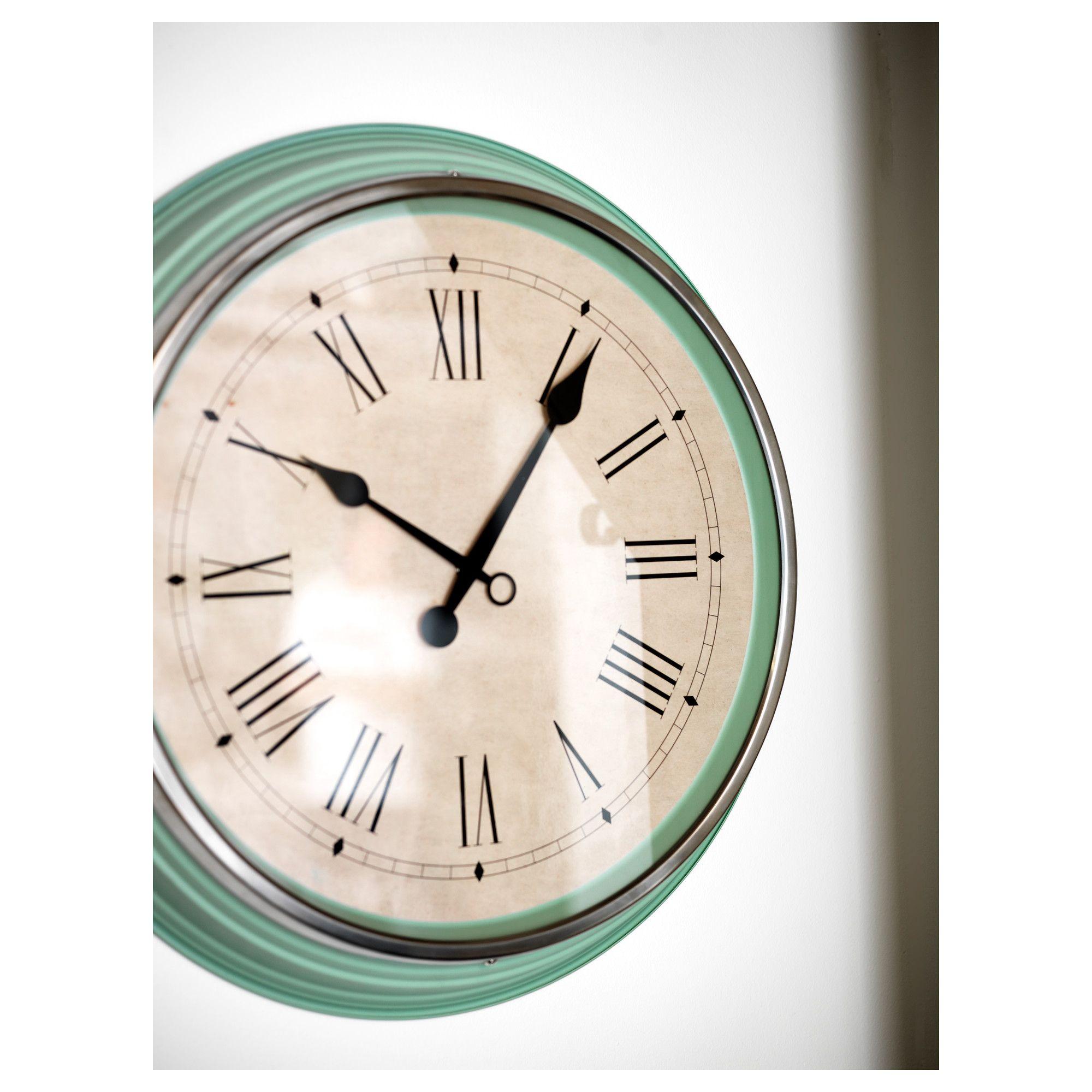 Ikea Skovel Wall Clock Green Products Pinterest Wall Clocks
