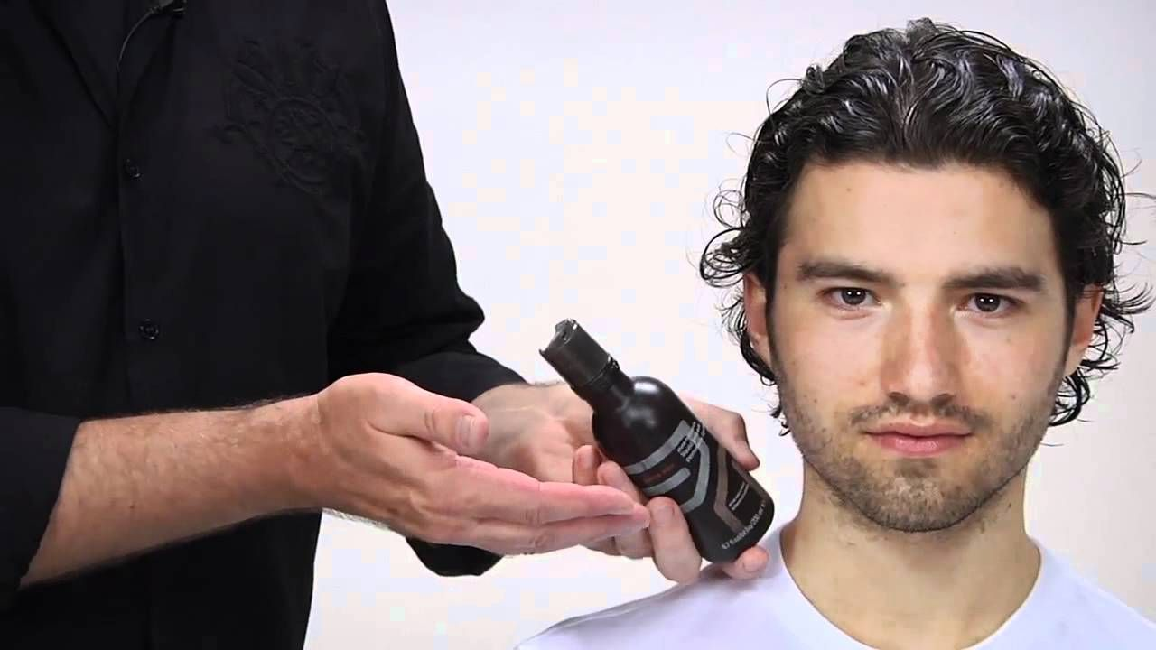 Curly mens haircuts aveda how to style menus long curly hair  men  pinterest  long
